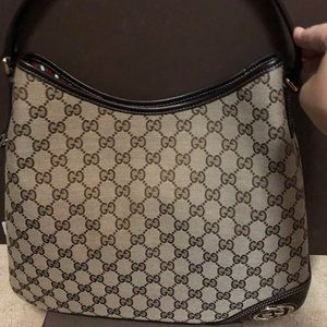Gucci Brown Shoulder Bag Never Used
